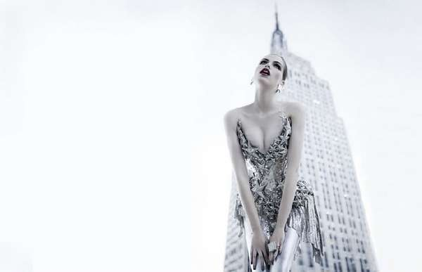 Silver Glitter Fashiontography