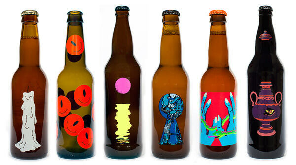 DaydreamInspired Beer Labels  Karl Grandin