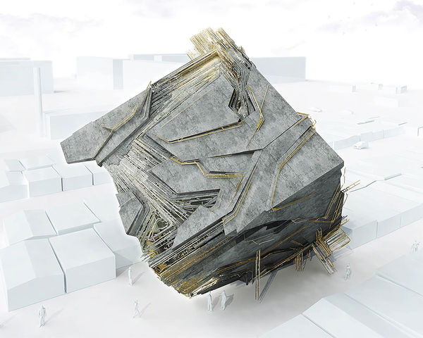 Rocky Cubic Architecture