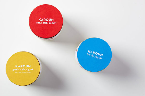 Playful Yogurt Branding
