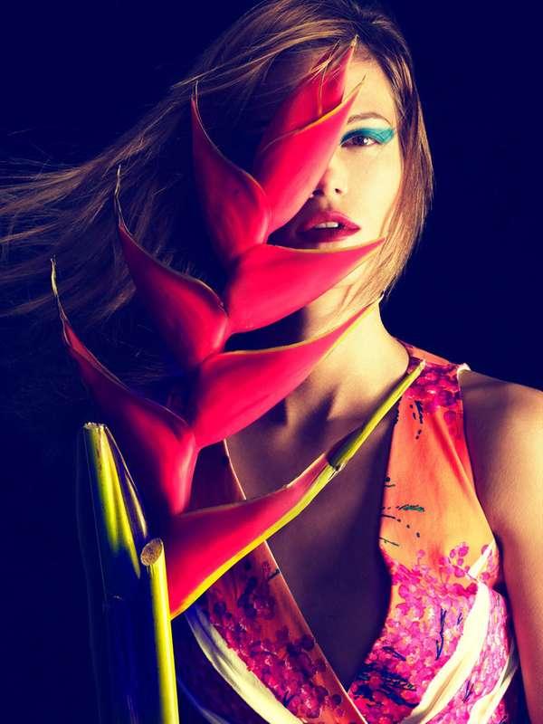 Exotic Floral Editorials