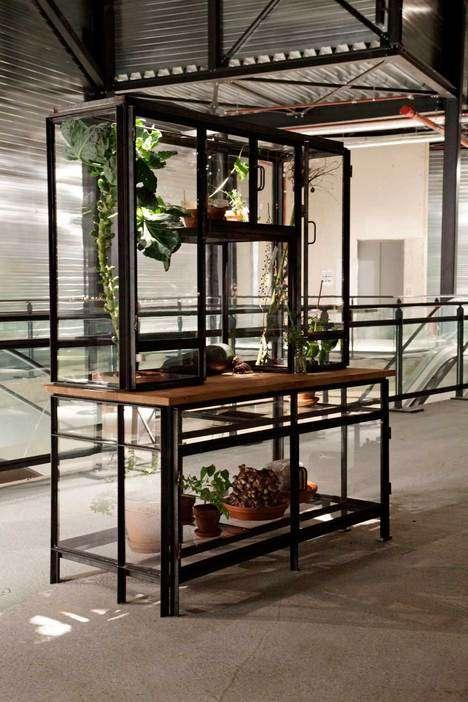 Indoor Garden Cabinets