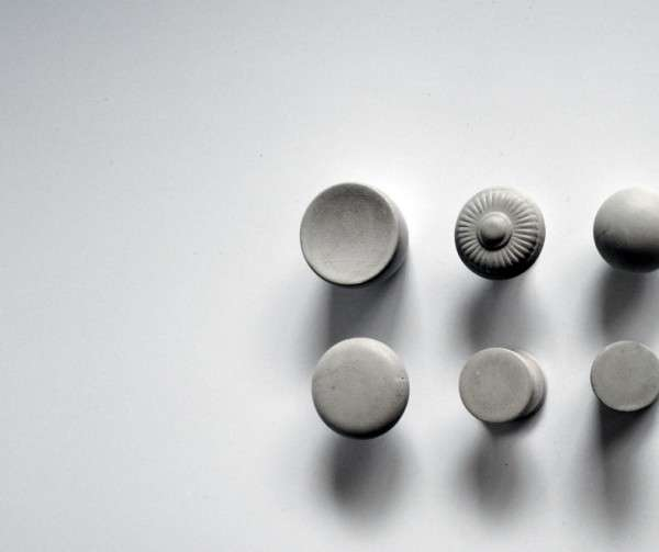 Cement Cabinet Knobs Kast Concrete Decor