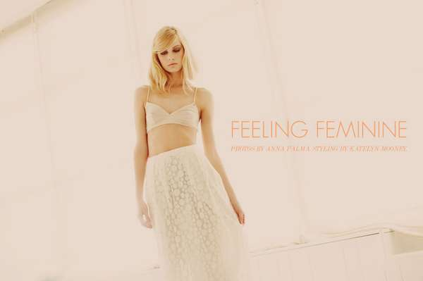 Fabulously Feminine Editorials