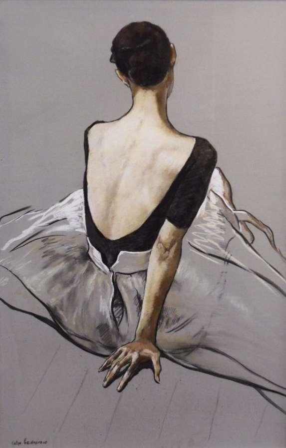 Off Duty Ballerina Portraits Katya Gridneva