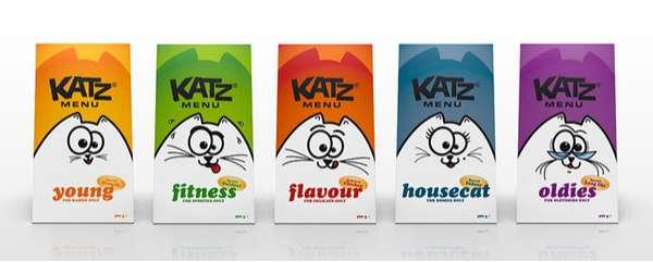 Adorable Pet Food Packaging