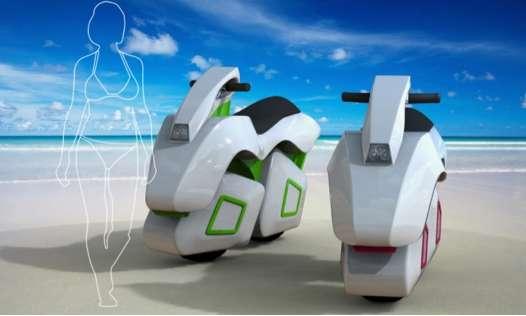 Amphibious Concept Scooters