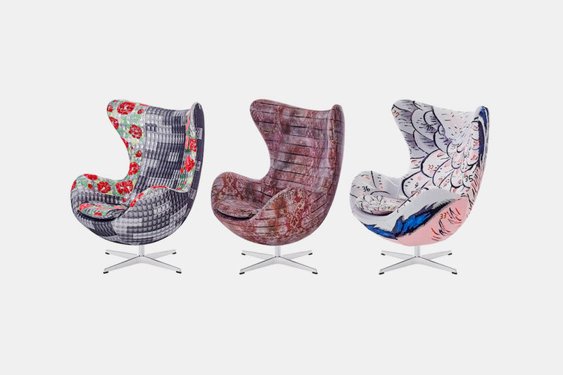 Patchwork Textile Chairs