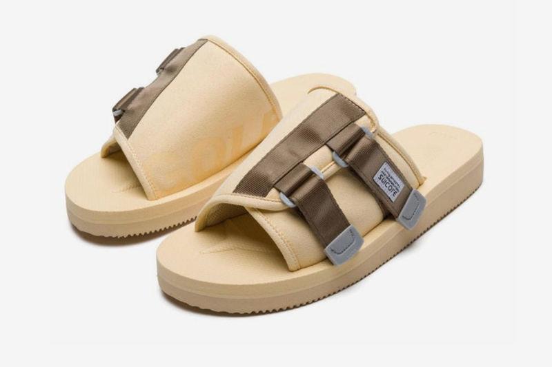 Soft Suede Velcro Slides
