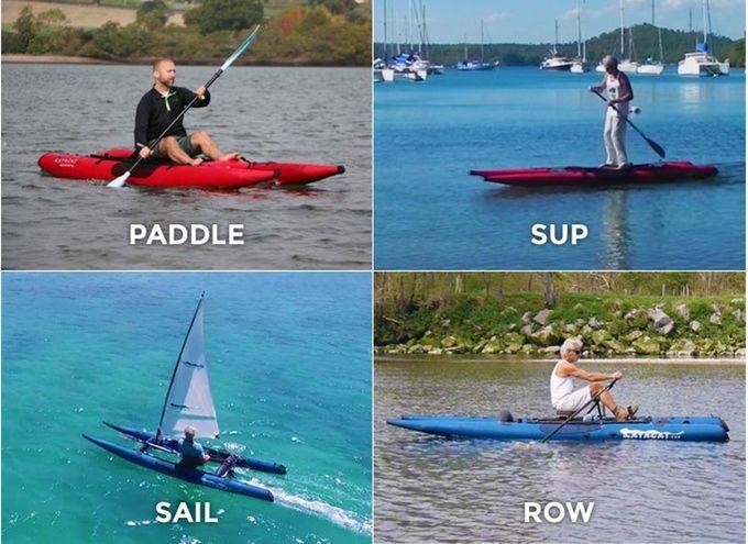 Versatile Portable Watercrafts