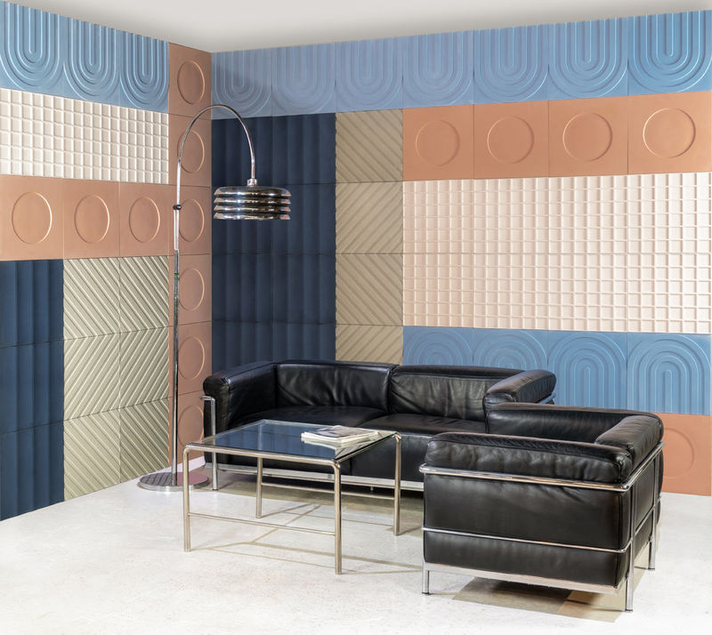 Colorful Bauhaus-Inspired Tiles