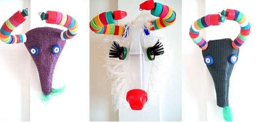 Reindeer Masquerades The Keag Recycled Bottle Masks Offer