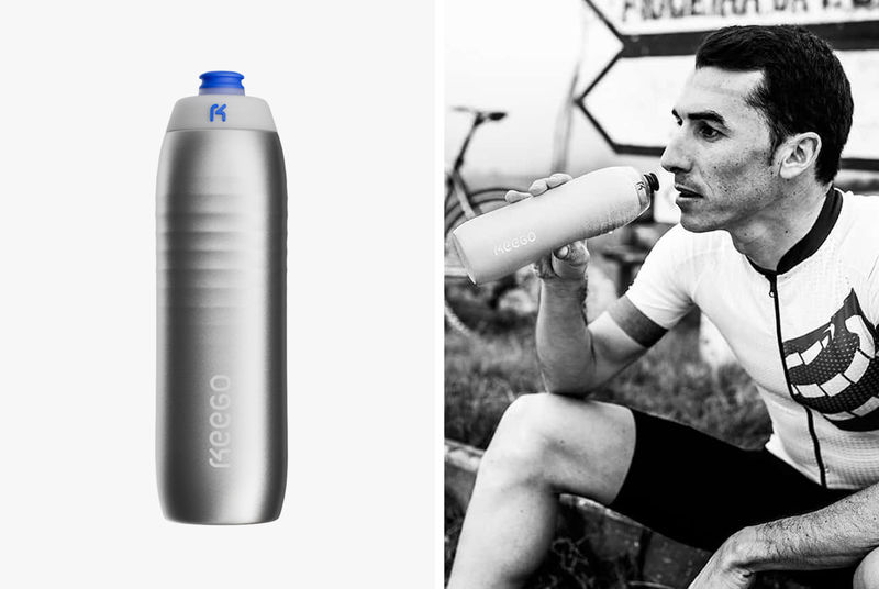 Flexible Titanium Water Bottles