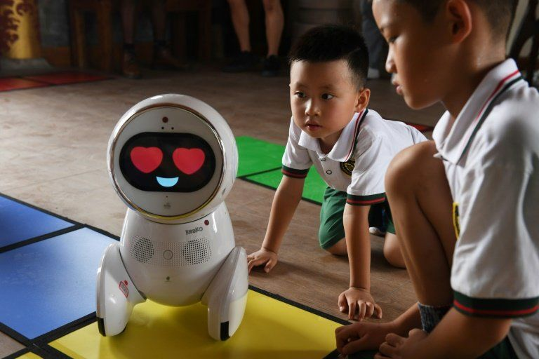 Chinese Robot Teachers