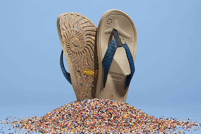 Recycled Factory Waste Sandals