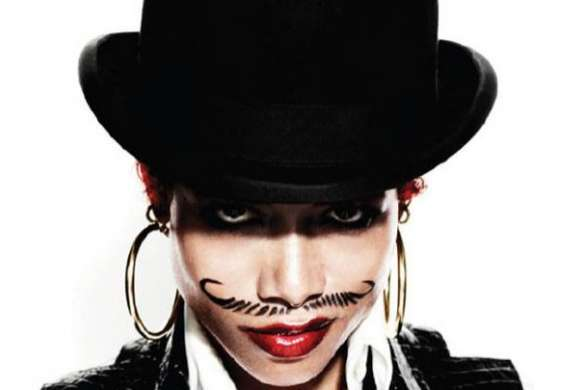 Classy Female Moustaches