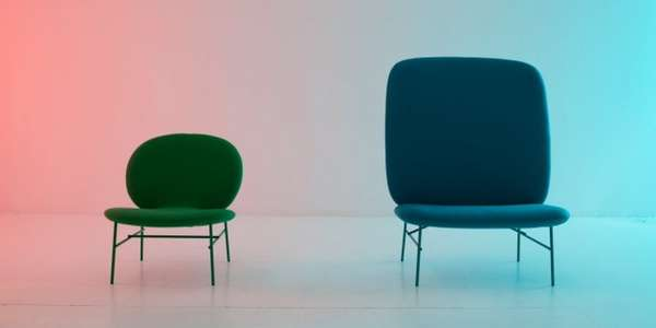 Rounded Colorful Seating