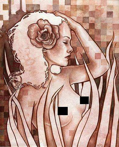Provocative Pixelated Paintings