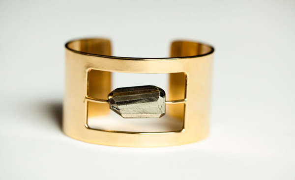 Suspended Stone Bangles