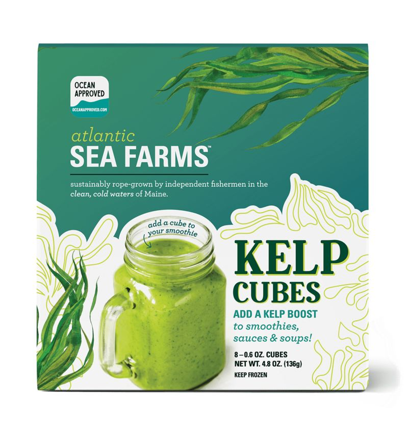 Ready-to-Blend Kelp Cubes