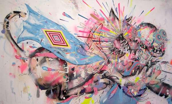 Vividly Explosive Art