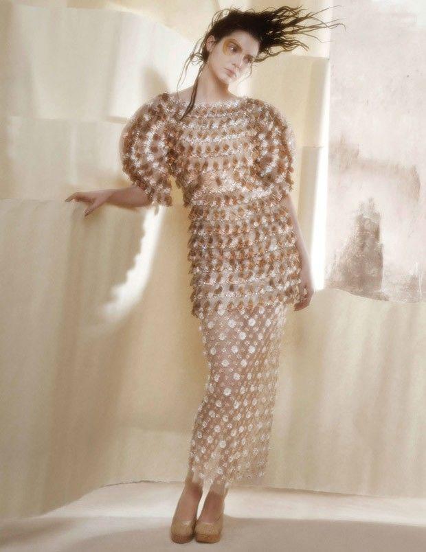 Blurred Supermodel Portraits