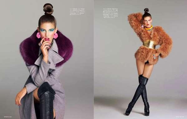 Fierce Throwback Fashion