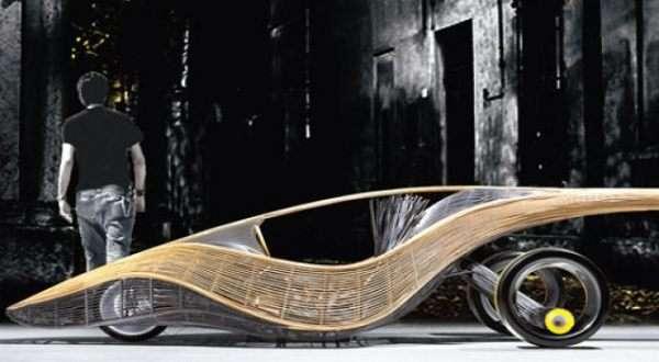 Curvy Bamboo Cars Kenneth Cobonpue