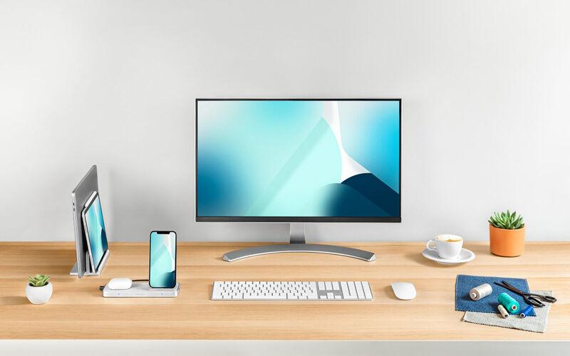 All-in-One Desktop Technology Holders