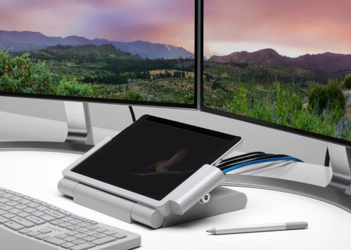 Stationary Tablet PC Docks