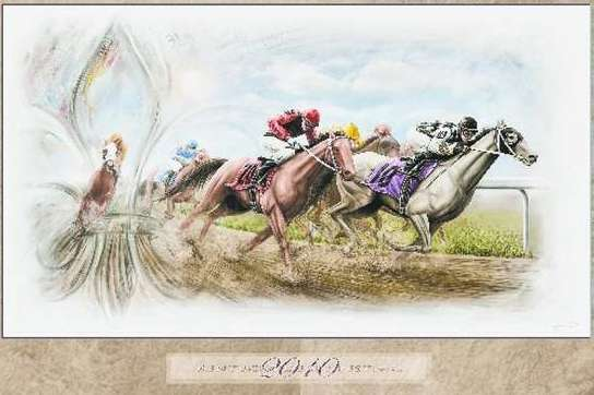 Derby Day Art