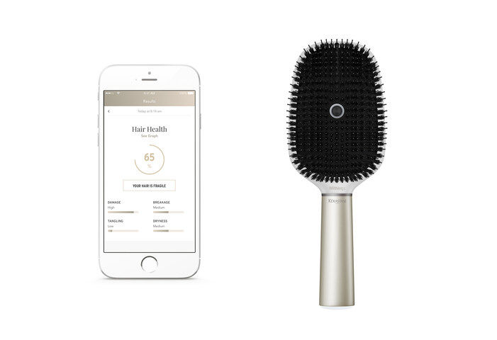 Sensor-Driven Smart Hairbrushes