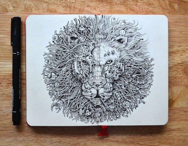 Hyperrealistic Animal Illustrations