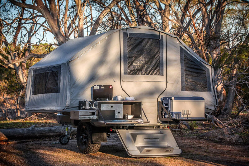 Family Sized Camping Trailers