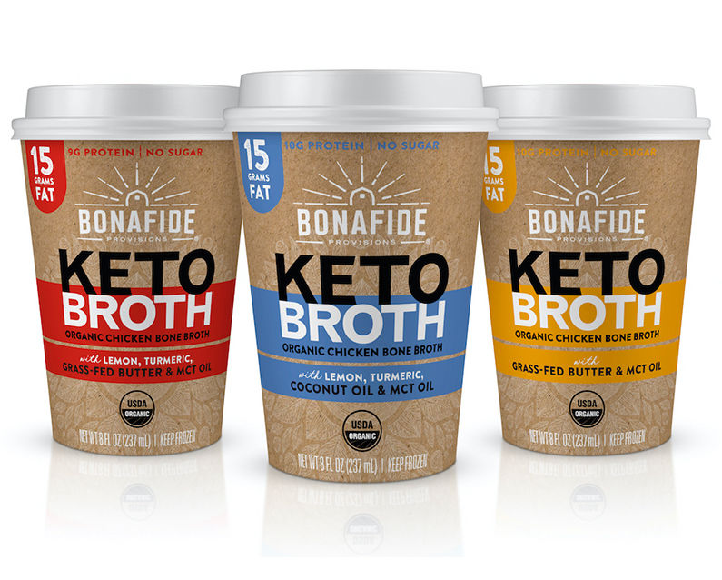 Keto Bone Broth Cups