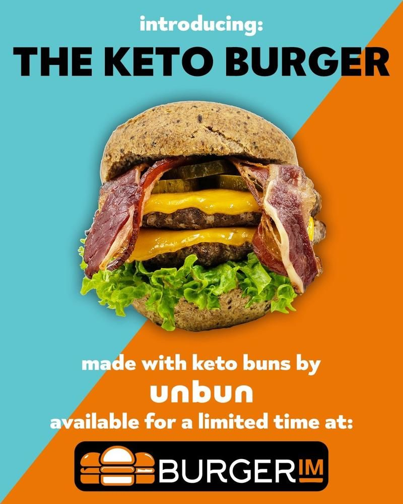 Grain-Free Keto Burgers