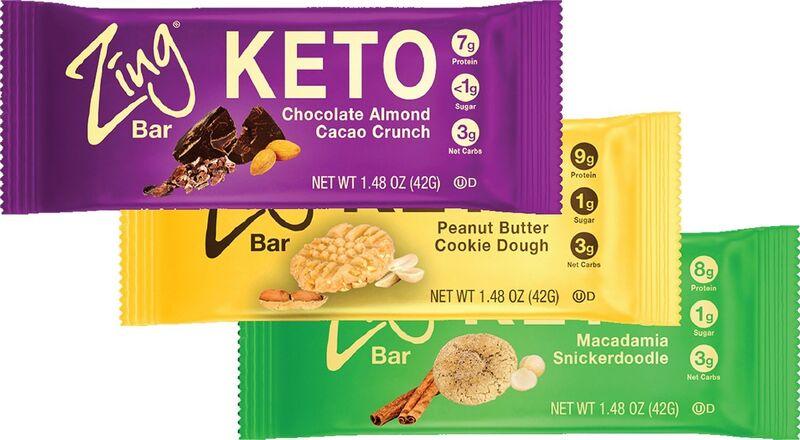Nutritionist-Developed Keto Bars