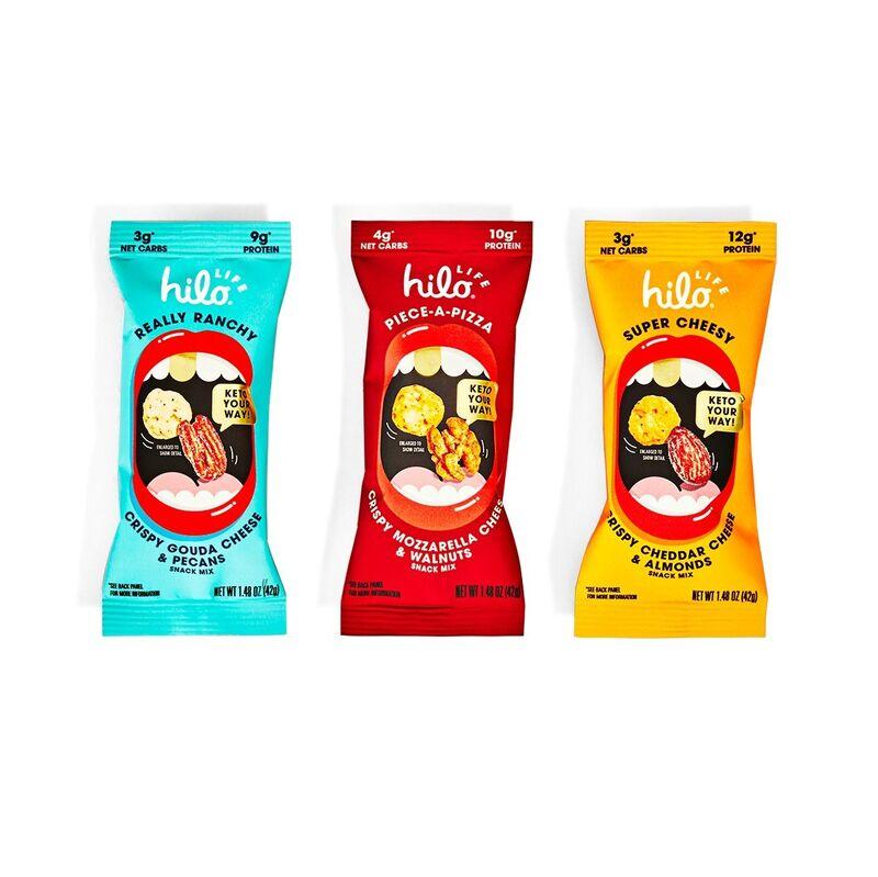 Cheesy Keto Snack Mixes