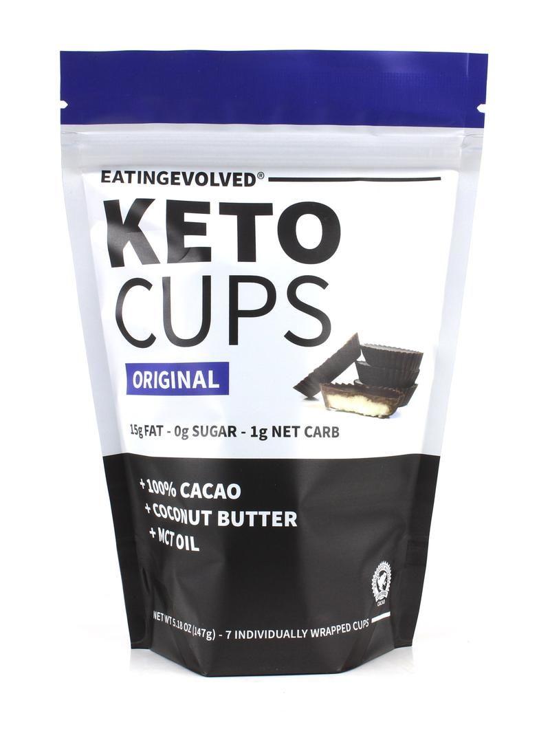 Ketogenic Chocolate Cups