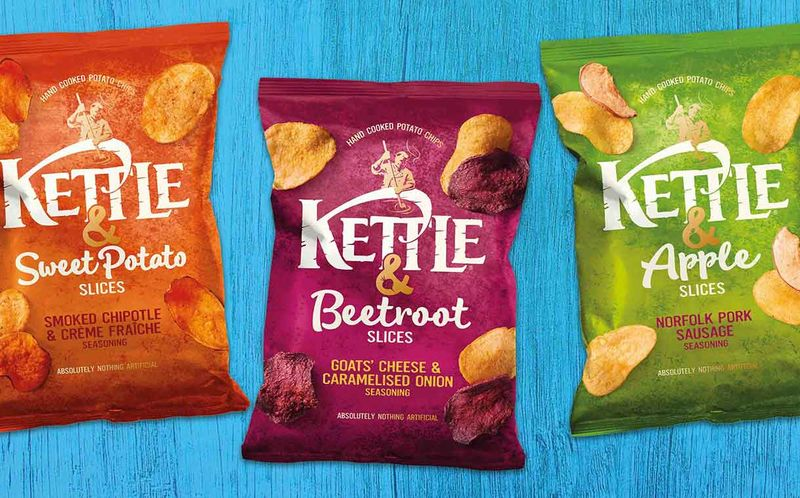 Fruit Slice-Infused Snack Chips