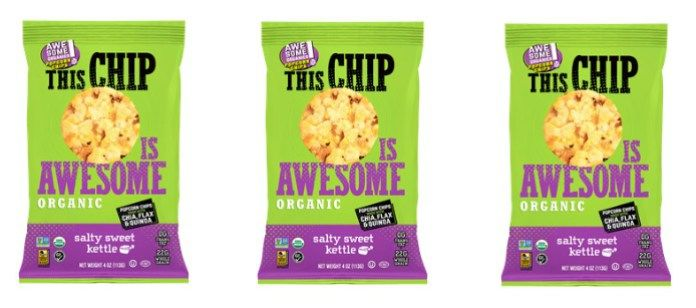 Whole Grain Popcorn Chips