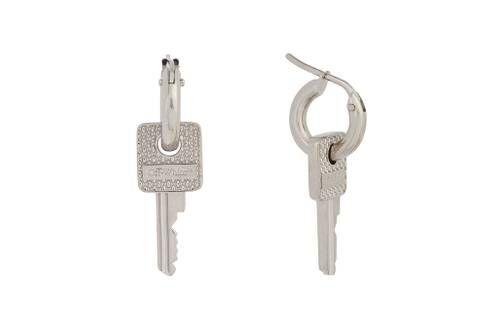Luxe Key-Shaped Earrings