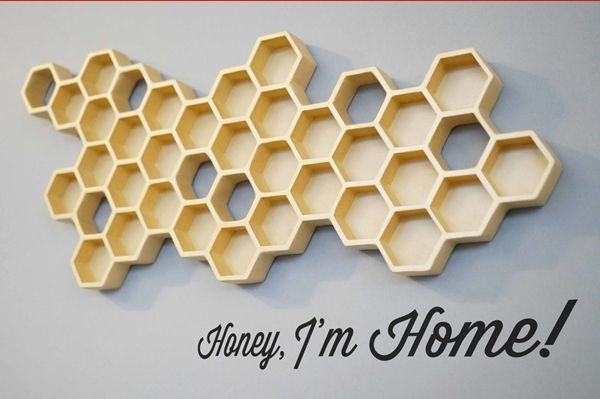 Honeycomb Key Holders