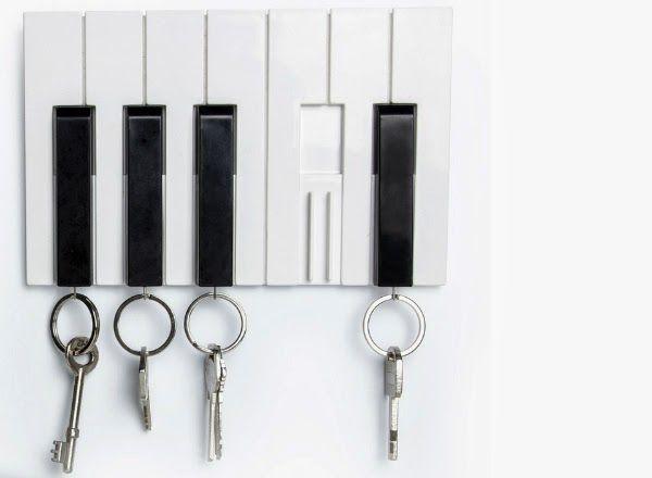 Instrument-Inspired Key Holders