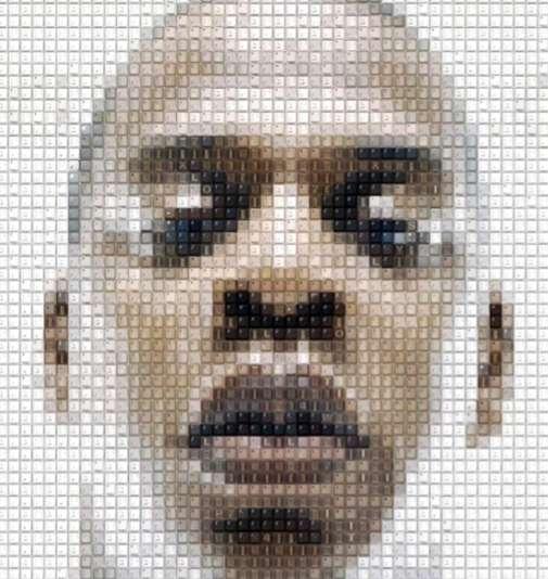 Celeb Mosaic Artwork