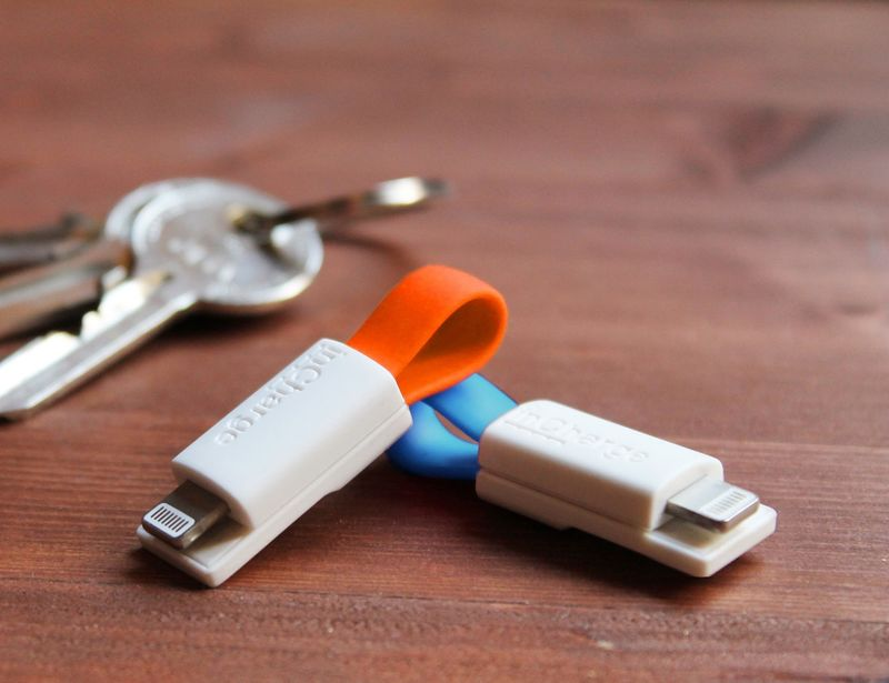 Smartphone Keychain Chargers
