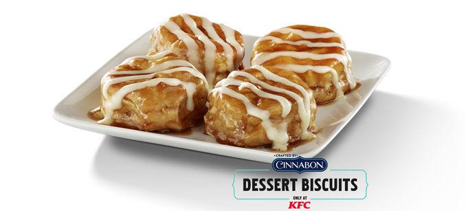 Indulgent QSR Dessert Biscuits