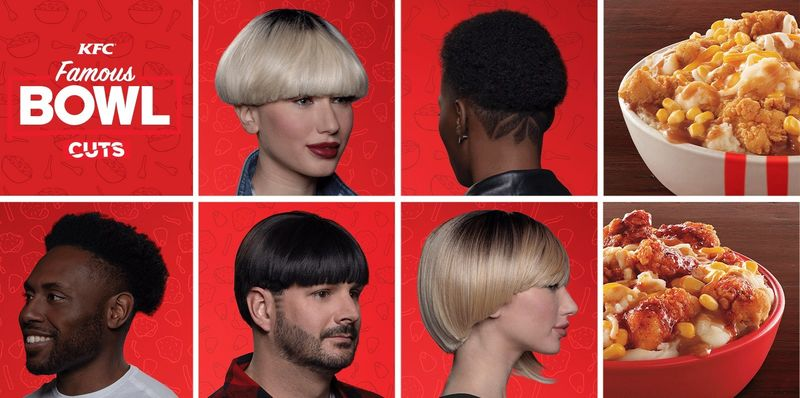 Branded Bowl-Shaped Haircuts