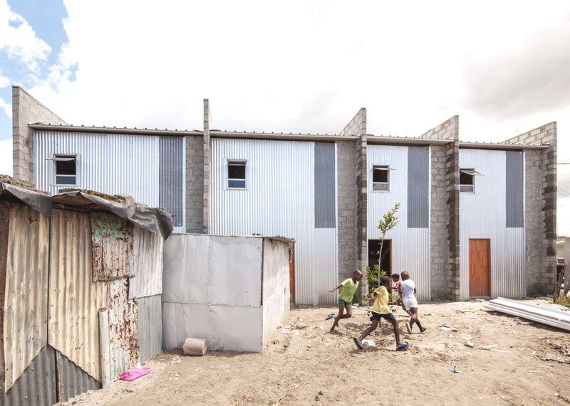 Safe Affordable Slum Housing