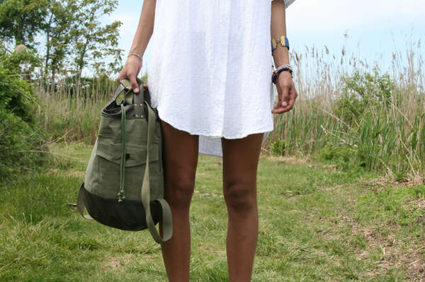 Military-Style Recycled Bags